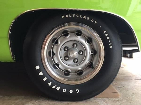 Goodyear Car >> SOLD - 4 Goodyear Polyglas GT (2) F60-15 (2) G60-15 Like new!   For B Bodies Only Classic Mopar ...