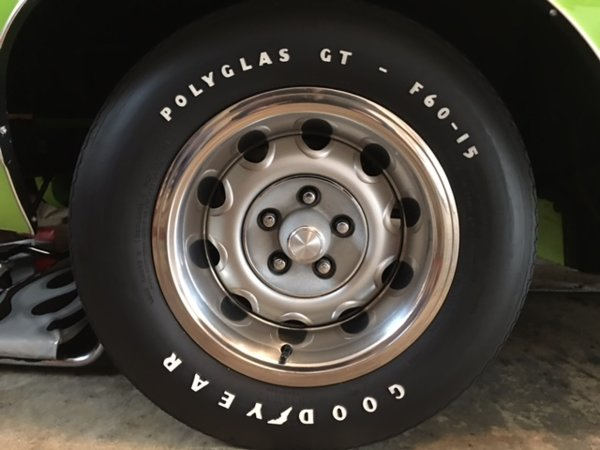 Cars For Sale St Louis Mo >> SOLD - 4 Goodyear Polyglas GT (2) F60-15 (2) G60-15 Like ...