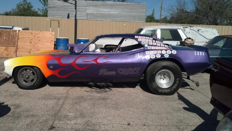 SOLD - 1970 Plymouth Barracuda Funny Car | For B Bodies Only