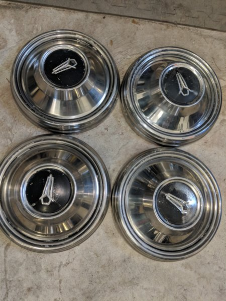 What Is Mopar >> FOR SALE - Plymouth dog dish hubcaps | For B Bodies Only ...