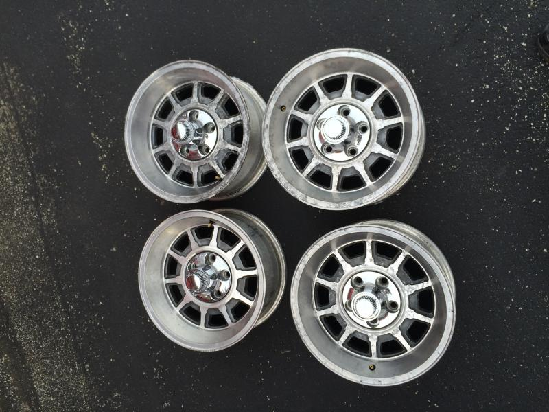 How To Polish Aluminum Wheels >> FOR SALE - Dodge Mirada/ Chrysler Cordoba Aluminum Wheels | For B Bodies Only Classic Mopar Forum