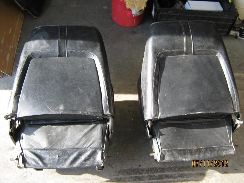 Sold Fs 1968 Early 69 B Body Bucket Seats With Rear Seat