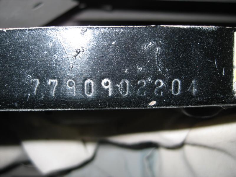 67 Gtx Vin Radiator Support Trunk Lip Match For B