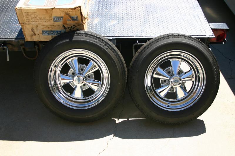 Trade In Marketplace >> SOLD - Cragar Vintage Series 1-Piece Gray G/T Wheels ...