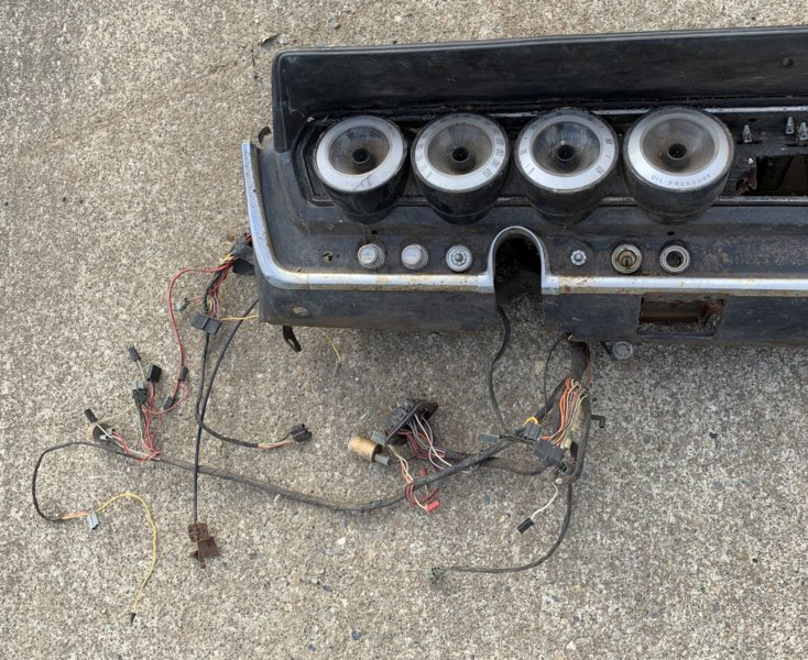 1966 dodge charger wiring harness for sale 1966 67 dodge charger dash complete for b bodies only  for sale 1966 67 dodge charger dash