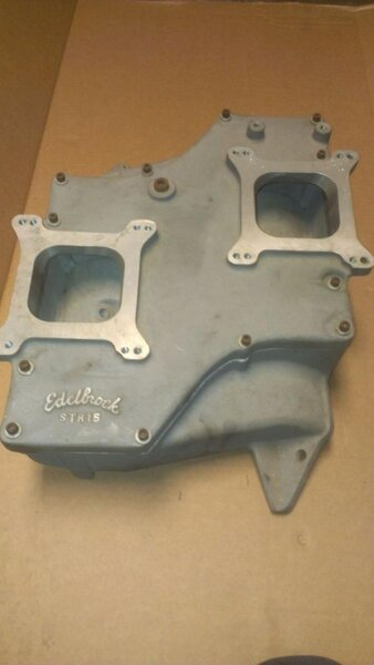Intake Edelbrock 383-400 B-Low deck Str-15 #5 2x4bbl top.jpg