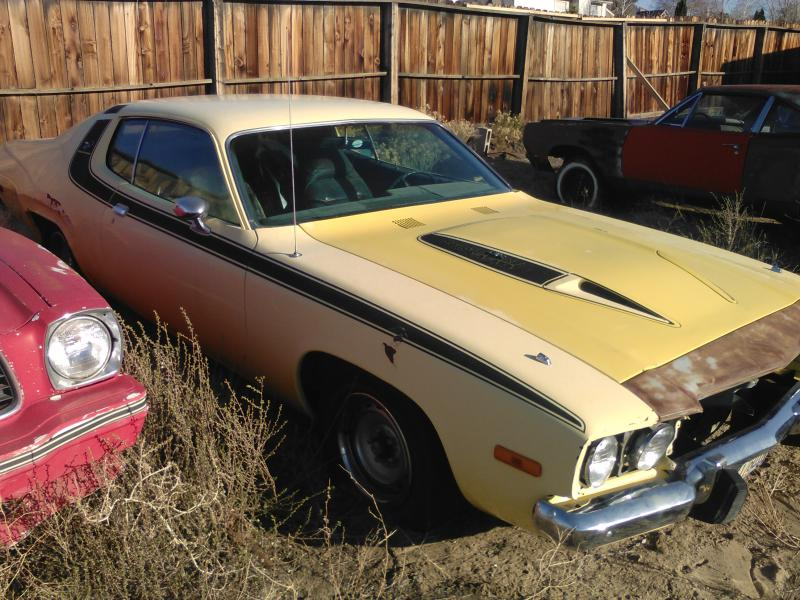Sold 1973 Plymouth Road Runner Gtx 440 Numbers Matching