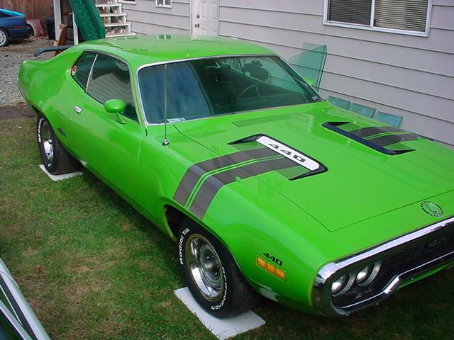 71 GTX 440 Sassy Grass Green | For B Bodies Only Classic Mopar Forum