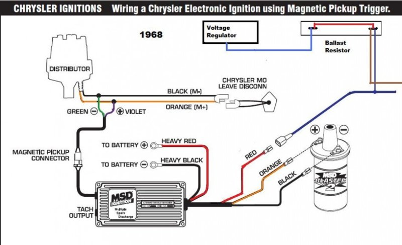 Msd 6 Al Wiring For B Bos Only, Msd Wiring Diagrams