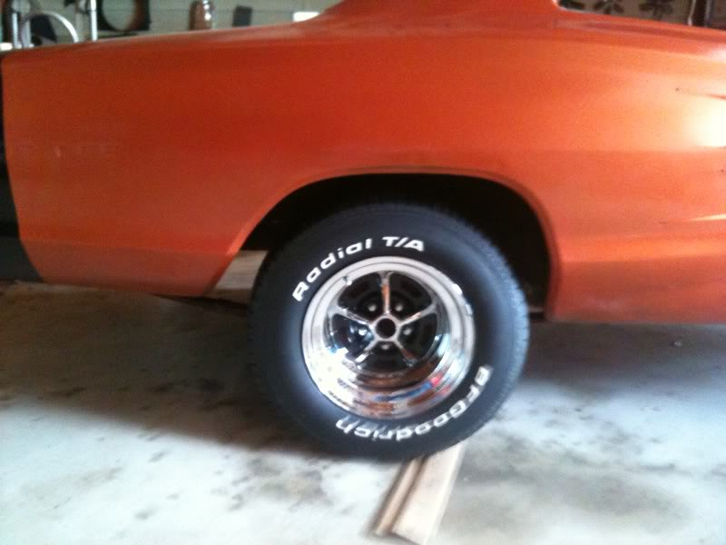 My New Magnum 500 Wheels For B Bodies Only Classic Mopar Forum
