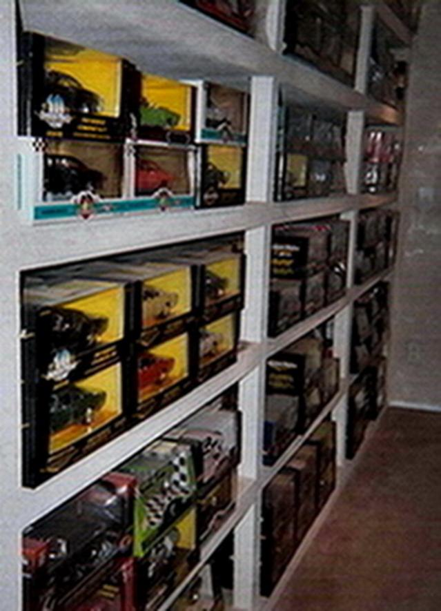 One wall of the 1 18 scale diecast cars.jpg