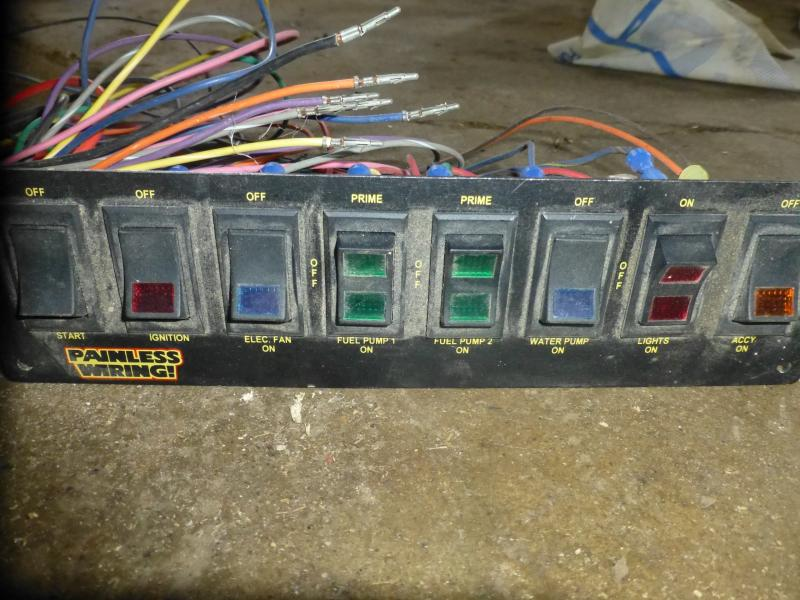 Superb For Sale Painless Wiring 8 Circuit Dash Mount Switch Panel And 10 Wiring Digital Resources Unprprontobusorg