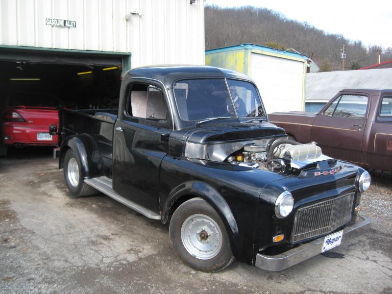 FOR SALE - 1952 pro street dodge truck | For B Bodies Only Classic Mopar Forum