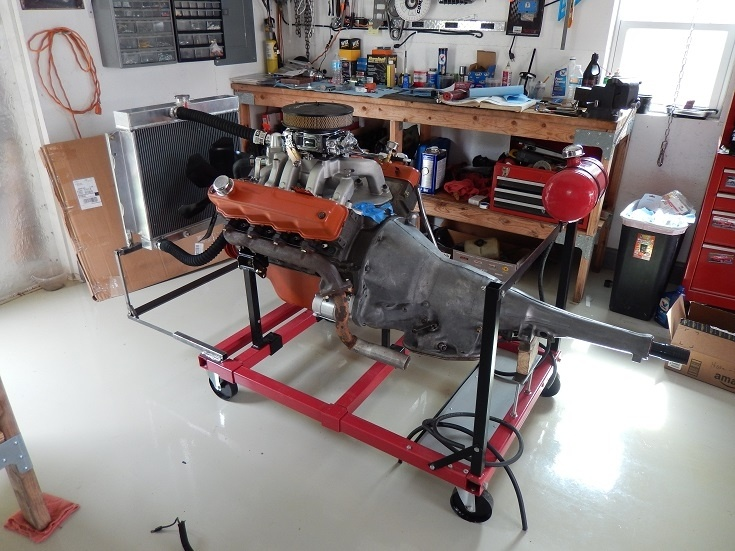 New Engine Start Up On Test Stand