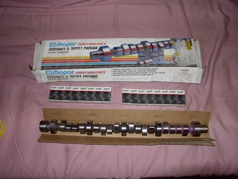 SOLD - Small Block Mopar Purple Shaft cam Kit P44552992