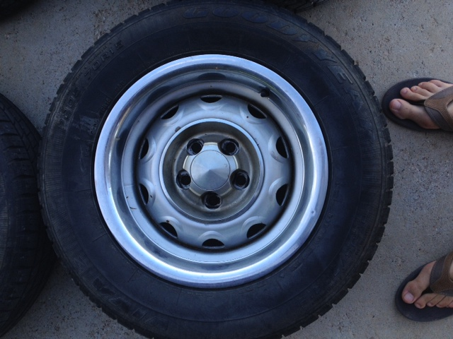 Sold for sale 15 quot mopar rally wheels tires amp wheels