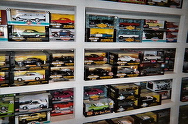 Some of my diecast collection including the unrestored 69 GTX convertible.jpg