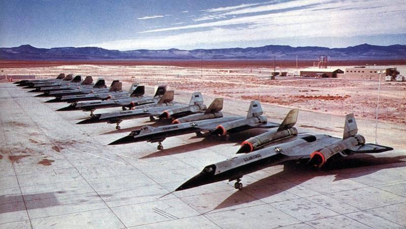 SR-71 A12 Plane #13 8 of them & 2 YF-12's waiting.jpg