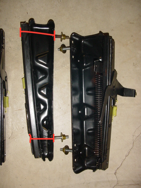 Height Of Seat Tracks 1970 B Body For B Bodies Only