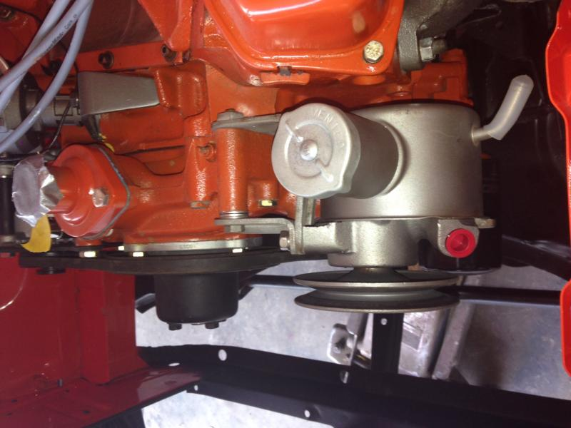 Power Steering On My Superbee Trw Test Fit With Pictures
