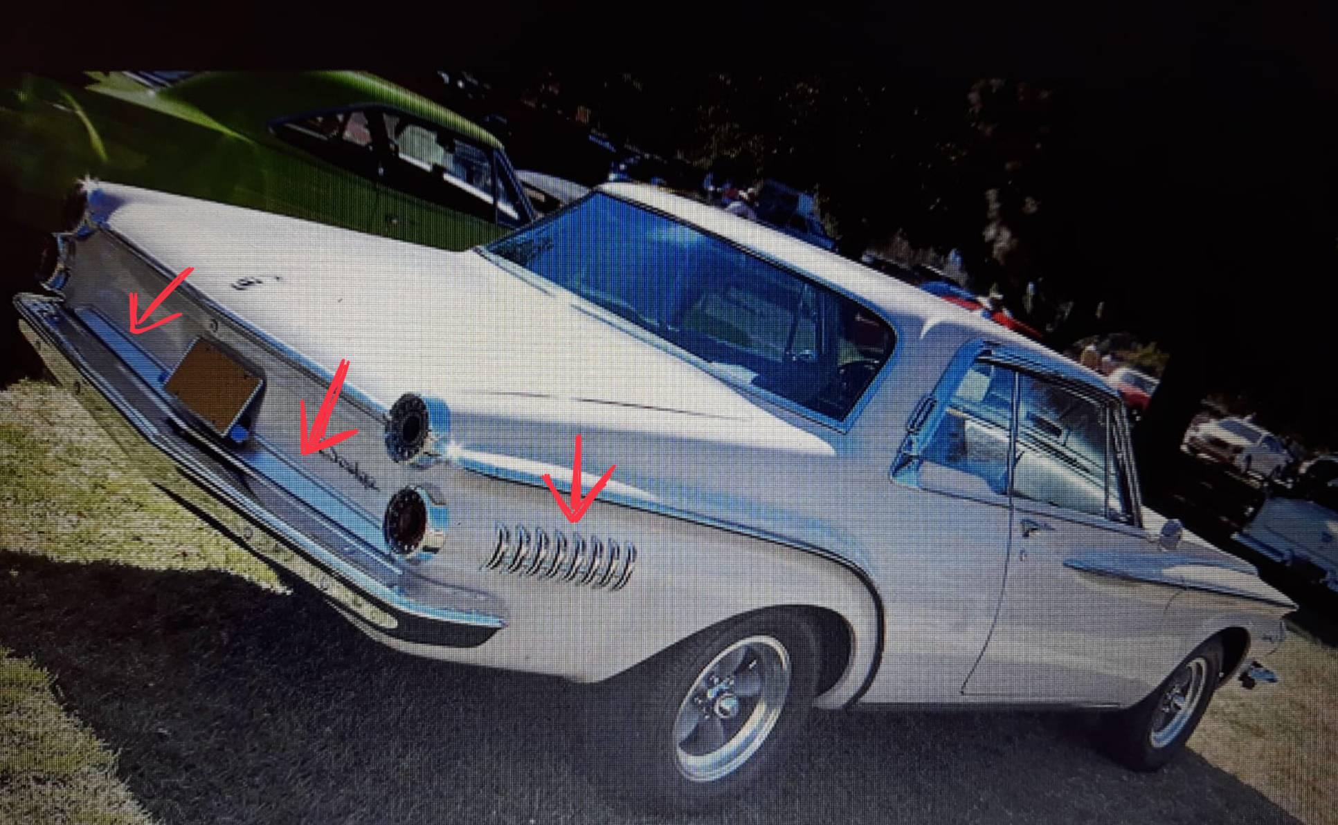 1962 Dodge Dart Rear Quarter Panel For B Bodies Only Classic Mopar Forum