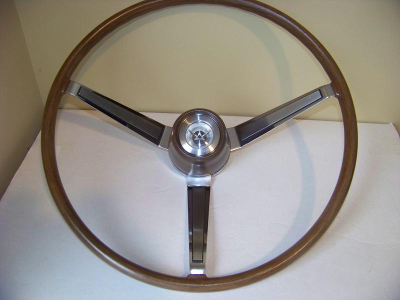 For Sale 66 67 Woodgrain Steering Wheel Coronet
