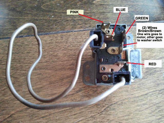 Wiper Switch    Wiring    Help   For B Bodies Only Classic Mopar Forum