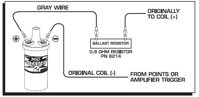 Pertronix ballast resistor | For B Bodies Only Classic Mopar Forum