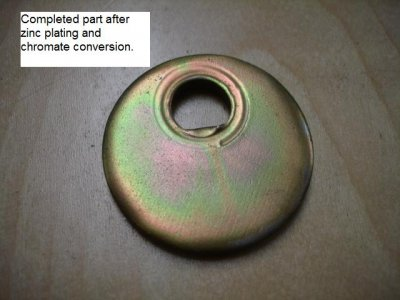 Zinc Plating with Yellow Chromate Conversion - How to achieve that