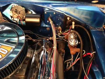 Rewiring with EZ WIRING HARNESS and have a question. | For B ... on