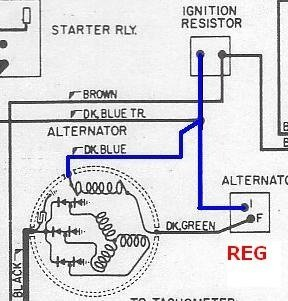 [DIAGRAM_38YU]  two field alternator connections | For B Bodies Only Classic Mopar Forum | Alternator Wiring Diagram Mopar |  | For B Bodies Only Mopar Forum